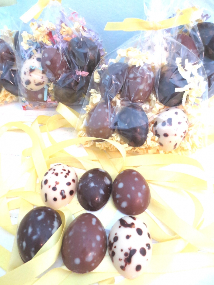 Easter Speckled Eggs